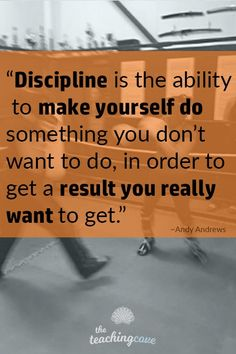 Motivational Monday: Discipline Is The Ability To Get The Results You Want Want inspirational quotes and Monday motivational delivered to your inbox? Click the pin to read today's post … Great Quotes, Quotes To Live By, Me Quotes, Inspirational Quotes, Sport Quotes, Change Quotes, Quotable Quotes, Family Quotes, Wisdom Quotes