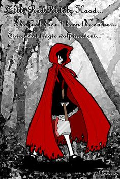 Little red ridding hood by Peppermint biscuit