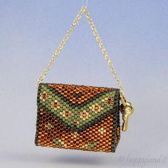 Amazing page for tutorials of mini handbags and mini purses