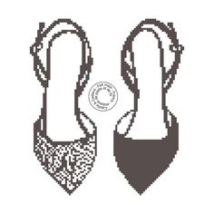 Shoes x-stitch