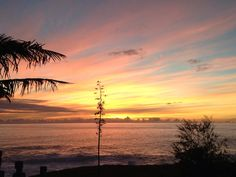 Easter Island sunset. Pic by Yashvi from her trip there. http://southamerica.travel/Testimonials/Peru-Easter-Island-Chile-and-an-engagement/