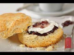 Cream Scones Recipe & Video - Joyofbaking.com *Video Recipe*