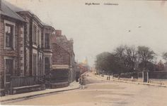 HIGH STREET, COLDSTREAM - 1905 POSTCARD (our ref DEB1460)