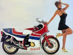 Honda 1100 RC original advertisement.