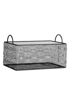 Panier de rangement en métal | H&M