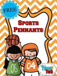 With this {FREEBIE} you can create your own sports themed pennants to welcome… Sports Bulletin Boards, Sports Theme Classroom, Future Classroom, Classroom Design, Classroom Organization, Classroom Ideas, Team Theme, A Team, Sport Theme