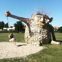 trold horsens denmark wood troll
