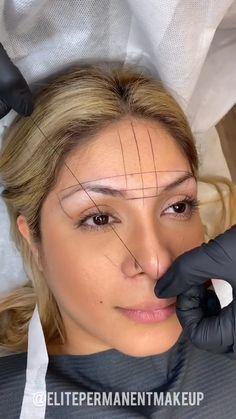 Eyebrows For Face Shape, Mircoblading Eyebrows, Natural Eyebrows, Perfect Eyebrows, Eyebrow Makeup Tips, Permanent Makeup Eyebrows, Hair Makeup, Asian Eye Makeup, Makeup Eye Looks