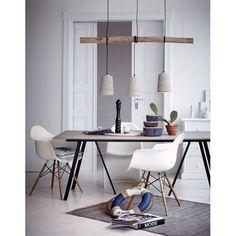 """moderne möbel und accessoires im shaker-stil: esstisch """"arundel, Esszimmer dekoo"""
