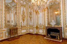 Versailles. Gold Plate Room.
