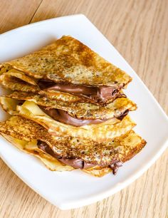 Crepes sound fancy, but they are easy to make. Here is what you need to know to create your own crepes at home. What Is Pancake Day, Authentic French Crepes Recipe, Nutella, Creme Fraiche Sauce, Friend Recipe, Crepe Recipes, Vegan Recipes, Food Porn, Healthy Recipes