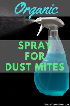 Spray For Dust Mites Dust mites are an allergy-causing pest that lives in our beds undetected (they are invisible to our naked eye). Reduce your allergies symptoms and sleep better with this simple to make and inexpensive spray. Dust Mite Allergy, Allergy Remedies, Asthma Remedies, Cleaning Recipes, Diy Cleaning Products, Cleaning Hacks, Mattress Cleaning, Thing 1, Immune System