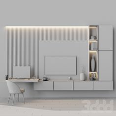 Bedroom Tv Wall, Room Design Bedroom, Home Room Design, Home Decor Bedroom, Home Interior Design, Wall Tv, Living Room Interior, Home Living Room, Living Room Decor