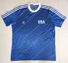 USA 1984 Football Shirt Soccer Jersey Trikot XL | Etsy Beckham Soccer, Retro Football Shirts, Color Calibration, Best Games, Perfect Match, Trending Outfits, Mens Tops, Usa, Fashion