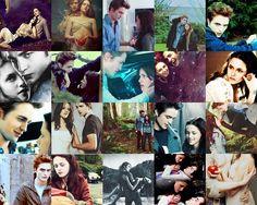 Edward & Bella collage - twilight-series Fan Art