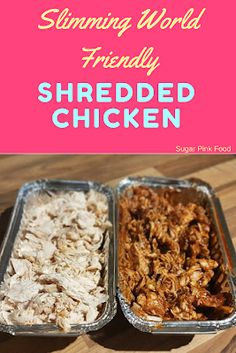Slow cooker batch cooked syn free Slimming World friendly shredded chicken and BBQ sauce! Slimming World Beef Recipes, Slow Cooker Slimming World, Slimming World Dinners, Slow Cooker Shredded Chicken, Shredded Chicken Recipes, Chicken Curry, Buffalo Chicken, Low Fat Dinner Recipes, Weightwatchers Recipes