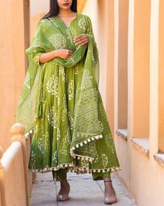 Anarkali cotton suits and dupatta with pom pom lace work. Sizes available summercollection forsale summeroffers indianfashion chennaifashion cottonsuits sale Latest Indian Fashion Trends, Asian Fashion, Latest Fashion For Women, Women's Fashion, Pakistani Outfits, Indian Outfits, Frock Patterns, Indian Designer Wear, Pajamas Women