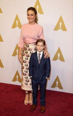 Pin for Later: Jacob Tremblay's Cutest Award Season Moments Oscars Luncheon