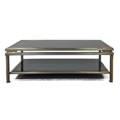 Flair home Collection 2 tiered nickel coffee table $1950