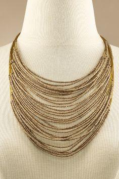 Lots Of Layers Necklace - Necklaces, Jewelry Bijoux Rock, La Conception De  Bijoux, 4784d3a45ee