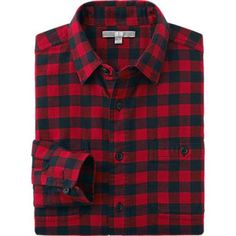 """Grunge Alternative - """"If a dusting cloth or duster can't be found, the best fabric to use is flannel. Red Flannel Outfit, Red Flannel Shirt, Red Shirt, Mens Flannel, Casual Shirts For Men, Men Casual, Uniqlo Men, Check Shirt Man, Business Casual Men"""