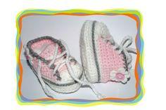 Baby- Schuhe ♥ Converse ♥  von Sternen - Welt auf DaWanda.com