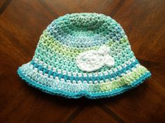 Beach hat free pattern by cre8tion crochet.