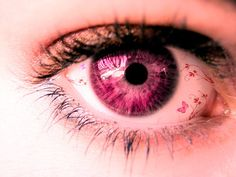 Pink Eye | Pink EYE by ~KaiPrincess on deviantART | We Heart It