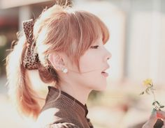 ulzzang girl ponytail | Most popular tags for this image include: ulzzang, fashion, kfashion ...