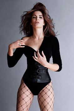 Stephanie Seymour in Alaia for Harper´s Bazaar by Sebastian Faena and Carine Roitfeld