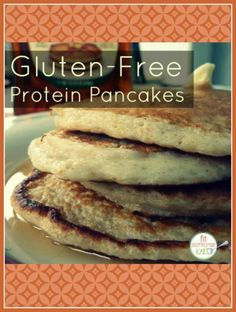 Easy to make, fluffy, gluten-free and high in protein. This pancake recipe just might be PERFECT! | Fit Bottomed Eats