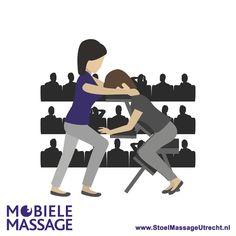 Stoelmassage op evenementen in Utrecht en omgeving. www.StoelMassageUtrecht.nl