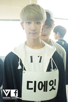 Seventeen's The8 with creeper Jun in the back xD