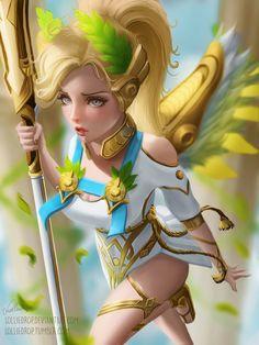 Overwatch Winged Victory Mercy - by Lolliedrop.deviantart.com on @DeviantArt