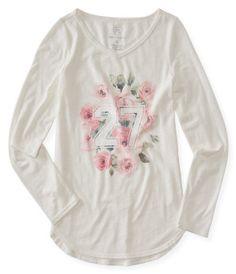Kids' Long Sleeve Roses 27 Tunic -