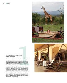 Cottar's 1920s Safari Camp is #1 of Five Star Kids magazine's Top 10 Safaris http://www.luxurytravelmag.com.au/FiveStarKids
