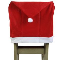 Christmas House Felt Santa's Hat Chair Covers -- You can get more details by clicking on the image.