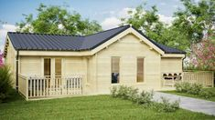 THREE BED TYPE C LOG CABIN x Free shingle roof tiles, damp proof membrane and free floor insulation. Delivered by loghouse. Log Cabins For Sale, Log Cabin Kits, Log Cabin Homes, Cabins In The Woods, Log Cabin Furniture, Rustic Wood Furniture, Western Furniture, Furniture Design, Rustic Cabin Decor