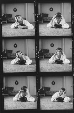 Account Suspended Audrey Hepburn photographed by Mark Shaw for Life Magazine during the filming of the Sabrina Los Angeles Studio Photography Poses, Portrait Photography Poses, Photography Poses Women, Photo Poses, Film Photography, Creative Photography, Audrey Hepburn Photos, Audrey Hepburn Wallpaper, Sabrina Audrey Hepburn
