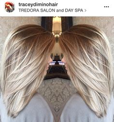 Blonde Balayage highlights, ash blonde, light blonde dark root, platinum blonde