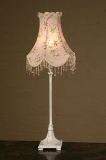 baby room chandelier table lamp | Pink Floral Charlotte Table Lamp ...