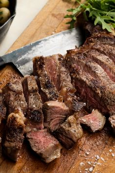 NYT Cooking: For a special occasion with a sweetheart, sharing a simple, luxurious dinner at home is even better than going to a restaurant. Splurge on a cut like rib-eye or tenderloin and open a great bottle of wine. It's a simple, no-fuss endeavor, yet