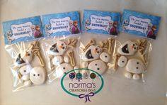 Disney Frozen build an Olaf cookies