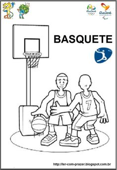 Esportes Olímpicos, prontos para imprimir. E no Blog do Ler com Prazer tem disponível a versão ampliada para painel (pronto para imprimir).  http://ler-com-prazer.blogspot.com.br/2016/06/esportes-olimpicos-para-imprimir.html                                                                                                                                                      Mais