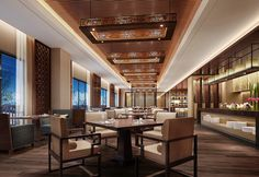 The Westin Changbaishan Resort—Executive Lounge by Westin Hotels and Resorts, via Flickr