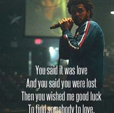 I hope you'll find somebody to love♥♡