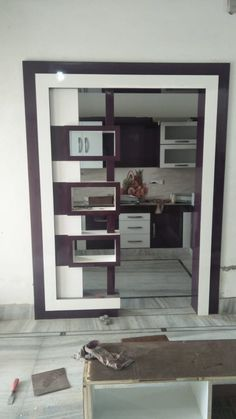 new latest partition gate design ,morden partition design gallery Wooden Partition Design, Glass Partition Designs, Front Door Design Wood, Living Room Partition Design, Room Door Design, Bedroom Bed Design, Gate Design, Kitchen Cupboard Designs, Bedroom Cupboard Designs