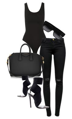 Untitled #277 by rhiannonkennedy on Polyvore featuring J Brand, Yummie by Heather Thomson, Givenchy and CÉLINE