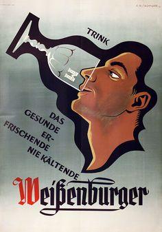 A.M. Cassandre, Trink Weissenburger