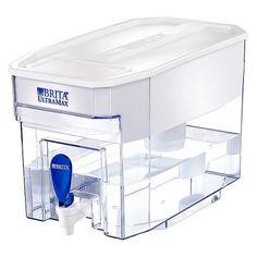 Brita UltraMax 18 Cup Water Filtration Dispenser - White : Target